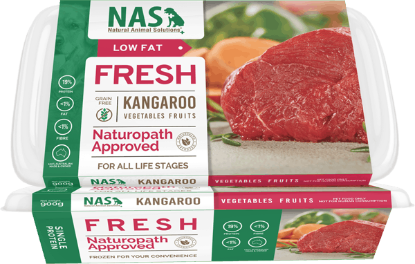 Fresh RAW Kangaroo For Dogs – Natural